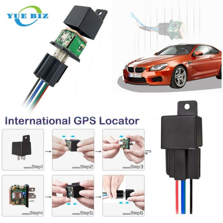 Hidden GPS tracker for car