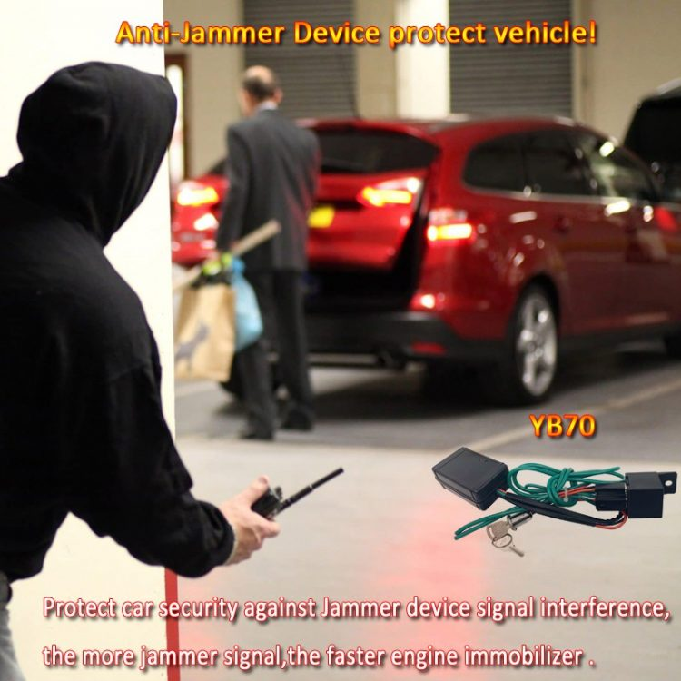 Anti-Jammer Device protect vehicle