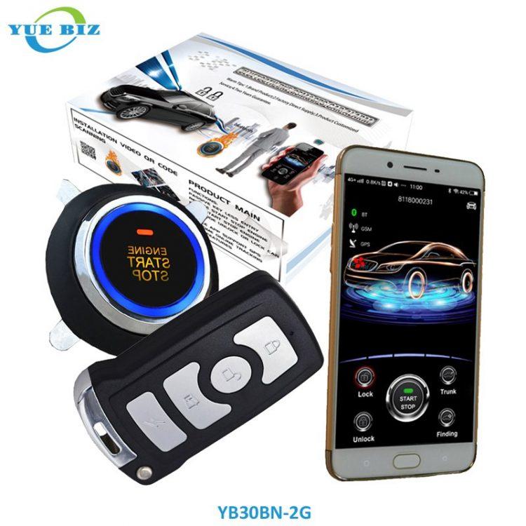YB30BN-2G-gsm car alarm