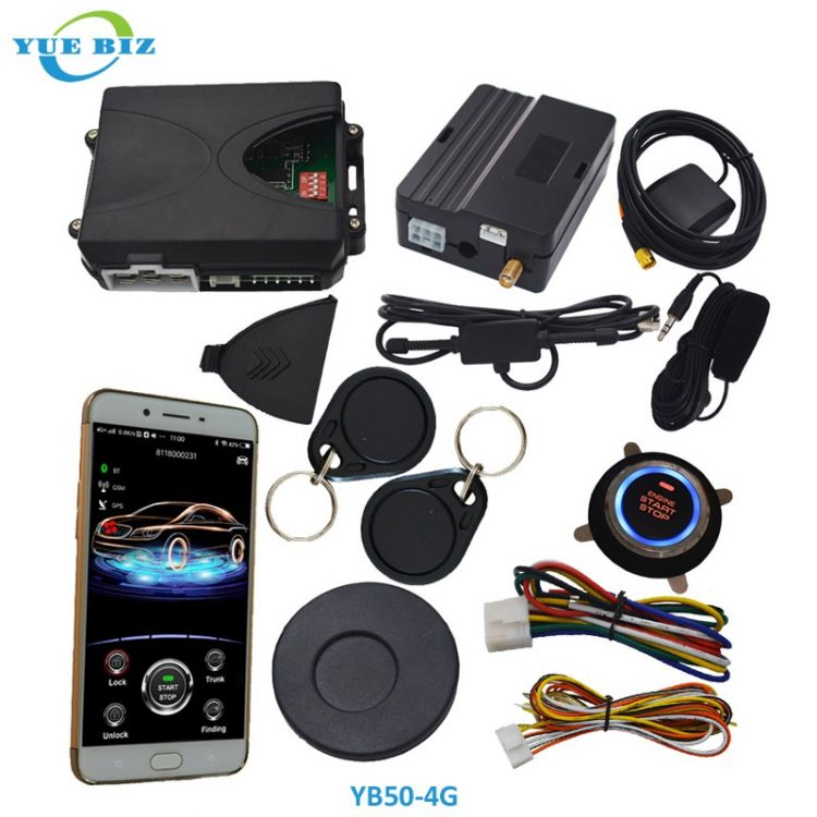 RFID invisible car alarm YB50-4G