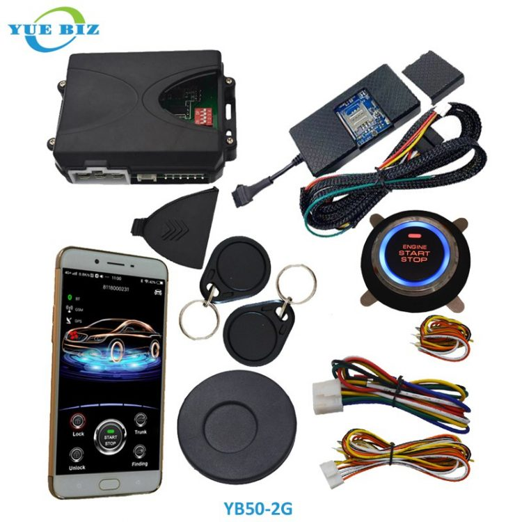 RFID invisible car alarms YB50-2G-01